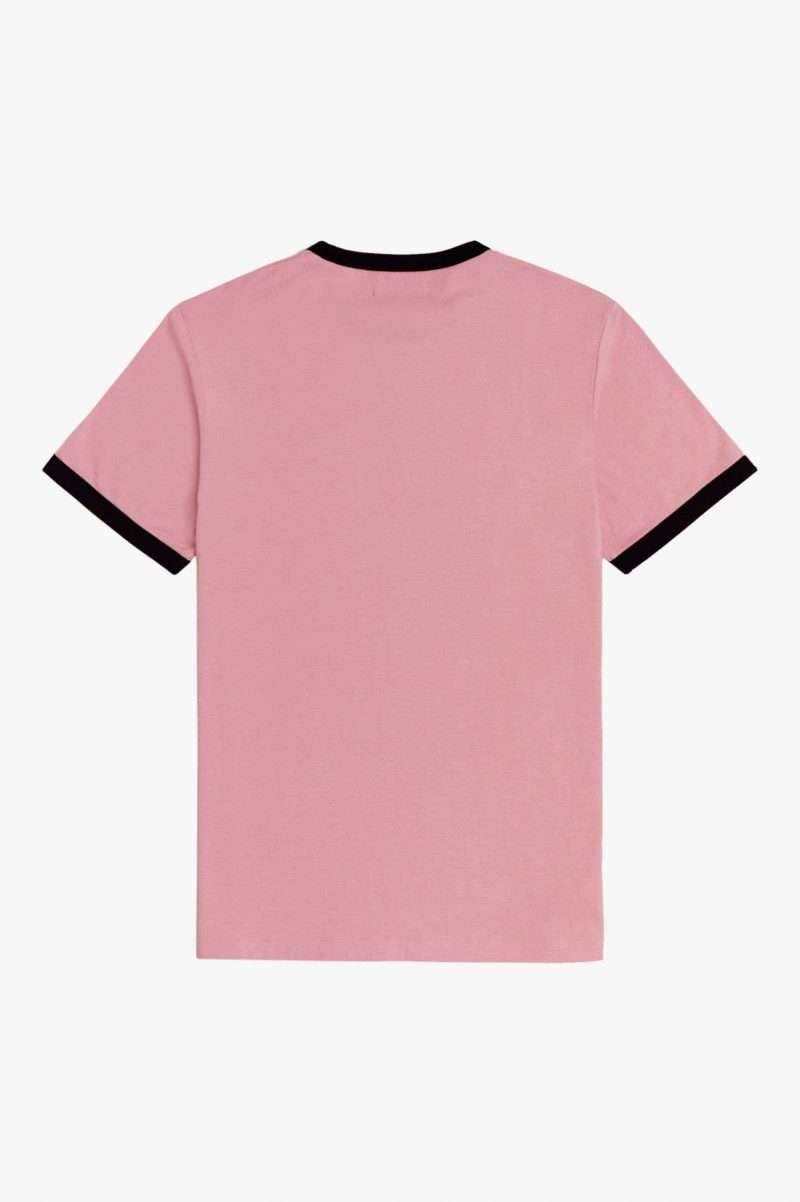 Tee Shirt Fred Perry Ringer T-Shirt Chalky Pink