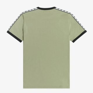 Tee Fred Perry Taped Ringer T-Shirt Seagrass