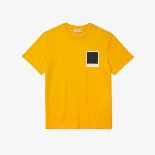 Camiseta Lacoste X Polaroid Tee Yellow