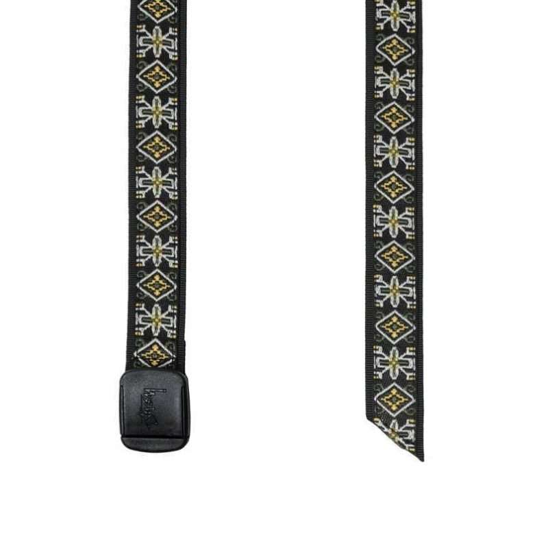 Belt Stussy Psych Jacquard Belt Black