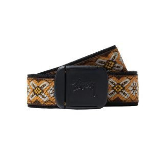 Cinturón Stussy Psych Orange Jacquard Belt