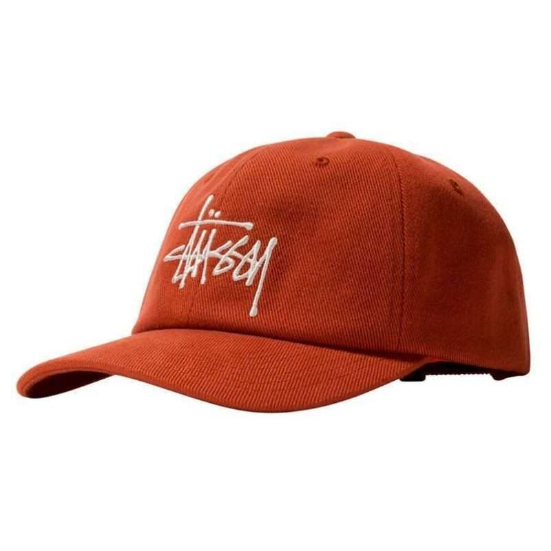Gorra Stussy Big Logo Twill Low Pro Cap Orange