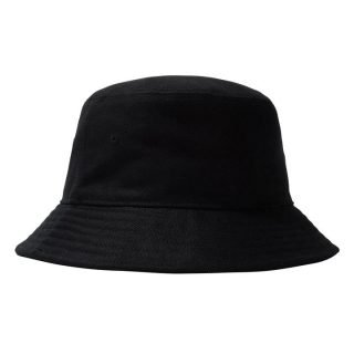 Hat Stussy Big Logo Twill Bucket Hat Black