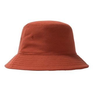 Hat Stussy Big Logo Twill Bucket Hat Orange