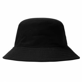 Hat Stussy Stock Bucket Hat Black