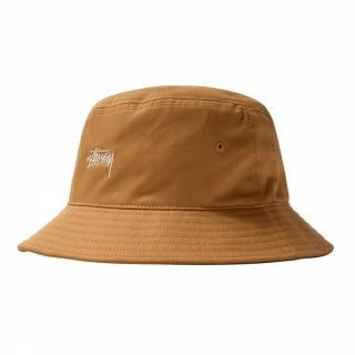 Gorro Stussy Stock Bucket Hat Khaki