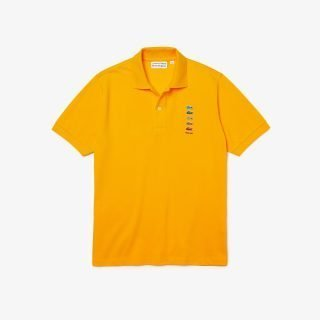 Polo Lacoste X Polaroid Polo Yellow
