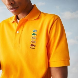 Polo Lacoste X Polaroid Polo Yellow PH2081