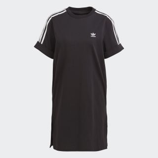 Vestido Adidas Adicolor Roll Up Sleeve Black