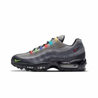 Zapatilla Nike Air Max 95 EOI Light Charcoal University Red Black