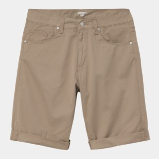 Bermuda Carhartt WIP Swell Short Leather Rinsed