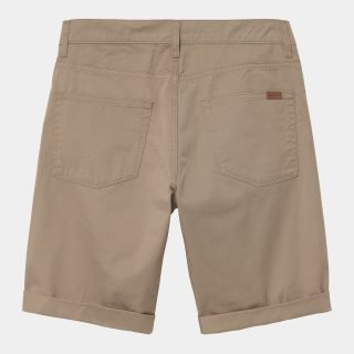 Short Bermuda Carhartt WIP Swell Leather Rinsed