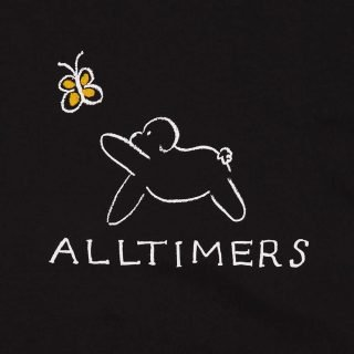 Tee Shirt Alltimers Claire Pup Tee Black