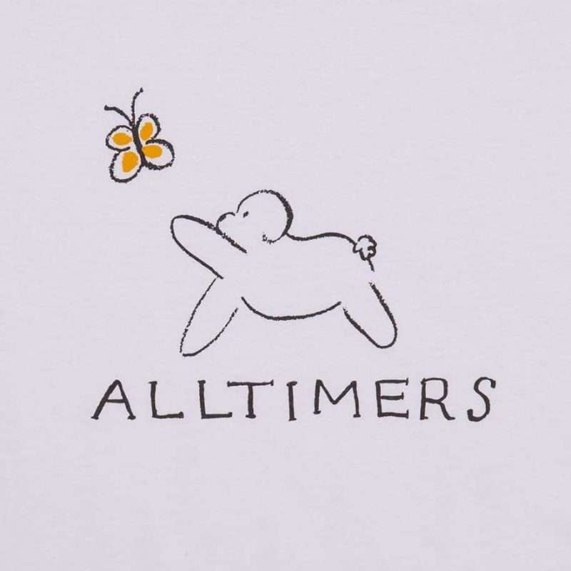 T-Shirt Alltimers Claire Pup Tee White