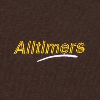 Tee Shirt Alltimers Embroidered Estate Tee Brown