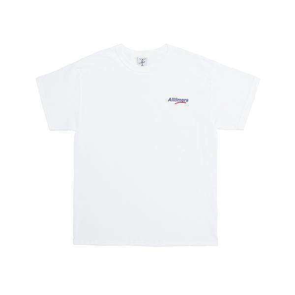 Camiseta Alltimers Embroidered Estate Tee White