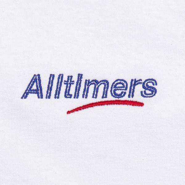 Tee Shirt Alltimers Embroidered Estate Tee White