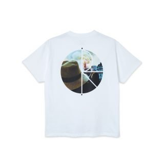 Camiseta Polar Skate Co Notre Dame Fill Logo Tee White