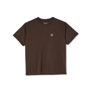 Camiseta Polar Skate Co Team Tee Sport Brown