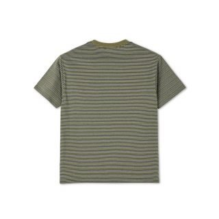 Tee Shirt Polar Skate Co. Stripe Pocket Tee Army Green