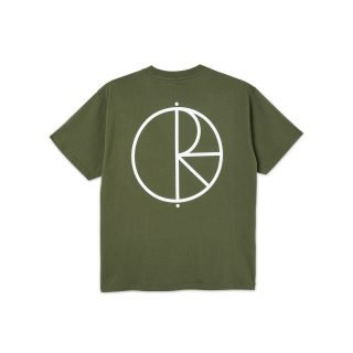 Camiseta Skate Co Stroke Logo Tee Uniform Green