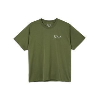 Tee Shirt Skate Co Stroke Logo Tee Uniform Green