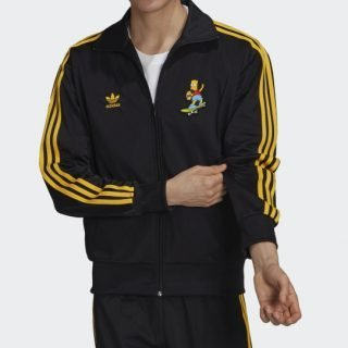 Jacket Adidas Firebird The Simpsons Black