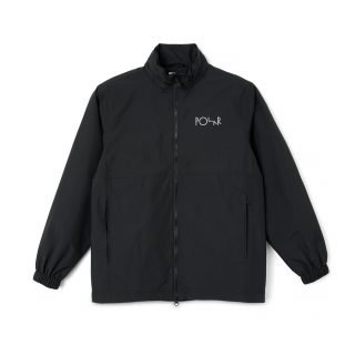 Chaqueta Polar Skate Co. Coach Jacket Black