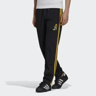 Pantalón Adidas Firebird The Simpsons Black