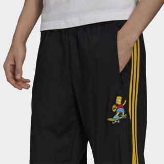 Pants Adidas Firebird The Simpsons Black