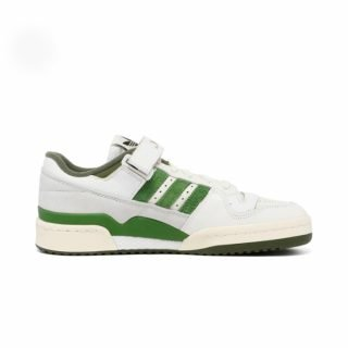 Shoe Adidas Forum 84 Low Cloud White Crew Green Wild Pine