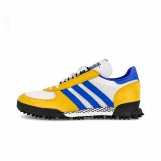 Zapatilla Adidas Marathon TR White Gold Blue Colourway