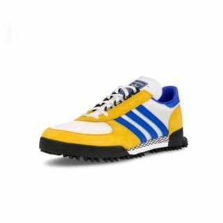 Sneaker Adidas Marathon TR White Gold Blue Colourway