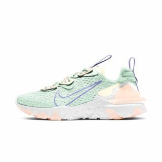 Zapatilla Nike React Vision Barely Green Purple Pulse Crimson Tint