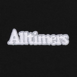Tee Shirt Alltimers Broadway Embroidered Tee Black