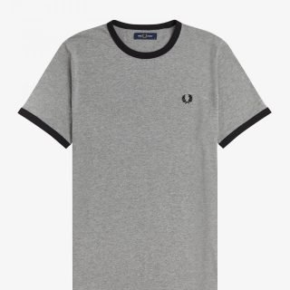 T-Shirt Fred Perry Ringer Tee Grey
