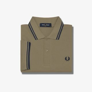 Polo Fred Perry Sage French Navy French Navy