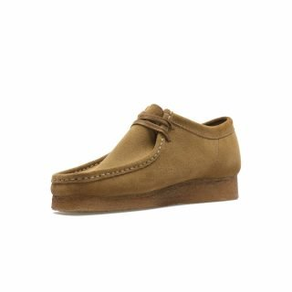 Shoes Clarks Wallabee Cola