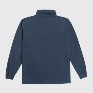 Tee Shirt Reception Clothing Rugby Roll Neck Tee Dark Blue